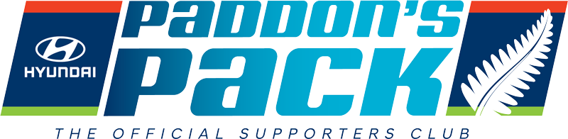 Paddon's Pack - the official supporters club